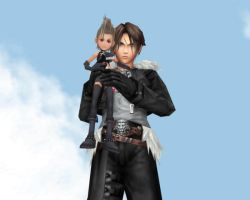 Squall and Pixie Paine by IntenseObservation