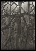 Slenderman by Cageyshick05