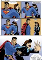 Lois Lane tickled by solletickle