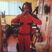 Lady Deadpool ~ InstaGram by XxSaraiyu-StockxX