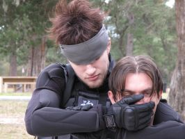 Solid Snake: Smothering by SonicRTR