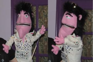 Elvis Puppet by kingart4