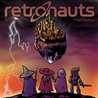 Retronauts Cover 11: Final Fantasy by P5ych