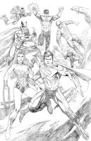 JLA New 52 by fernandomerlo