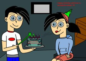 Dani's Birthday Requested by MasterghostUnlimited