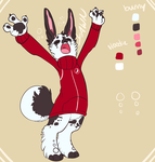 bunny design commission by HauntedHomo