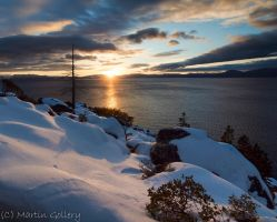 Tahoe sunset- East Shore3 by MartinGollery