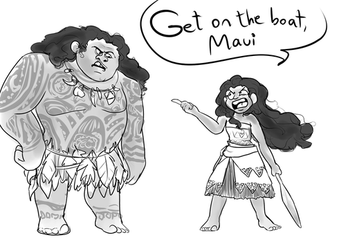 Moana by Unlucky-day-for-Fay