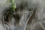Haunted Swamp by blackrose66nz