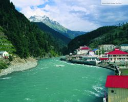 River Swat Kalam, Pakistan by sajidbilal