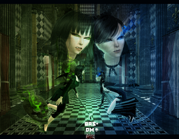 Black Rock Shooter The Sims2 10 by AliceYuric