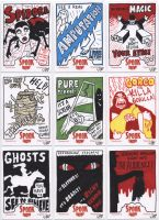 Spook Show sketch cards 2 by tdastick