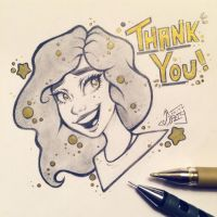 Thank you  by TheLittleArtyThing