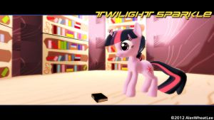 MLP: Twilight Sparkle - NFS III Stylized by AlexWheatLee