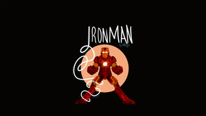 Iron Man Wallpaper by therealantboy