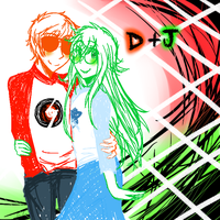 Dave and Jade by Xxnarutogrl6xX