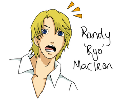 FAKE - Randy 'Ryo' Maclean by caramelcatkin