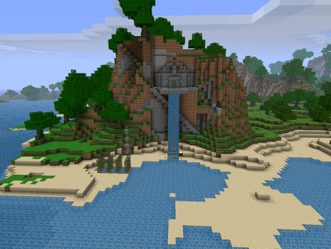 A Veiw of One of My Houses by NickasaurusREX