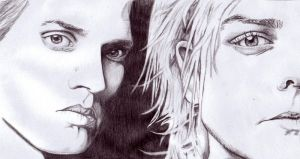 Gerard and Mikey Way- MCR by hmbhaines