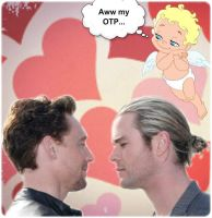 The angel's OTP - Hiddlesworth by BeccaMalory
