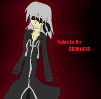 Faded to the DARNESS riku by sophloulou