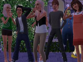 the family by TheSims3Pets