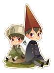 Over the garden wall - chibi by PaulinaAPC