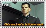 Downfall Stamps: Otto Gunsche by MrAngryDog