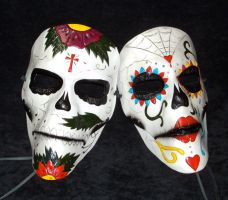 Day of The Dead Mask by TasteOfCrimson
