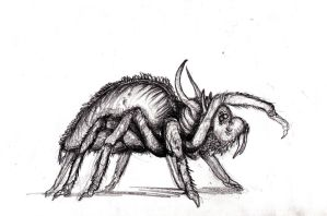 Spider, Ungoliant Brood by KingOvRats
