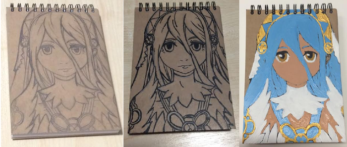 Azura Pad in Progress by MapleMochi06