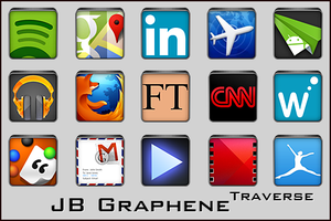 Android Icons | JB Graphene Traverse by lostintortola