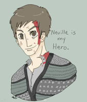 Neville Longbottom by StrawHatAna