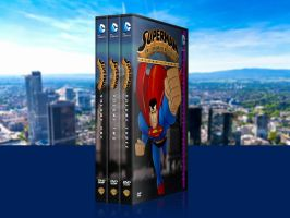 Superman: TAS Custom DVD Covers Combined by SUPERMAN3D