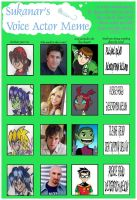 Voice Actor Meme by gilster262