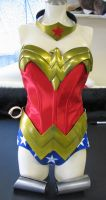 Wonder Woman armor by Vermithrax1