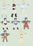 Smash Costumes 1 by Lance-the-young