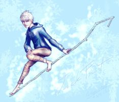 [RotG] Jack Frost by noei1984