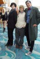 Sherlock Holmes, his Watson, and the 11th Doctor by trivto