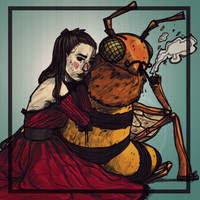 Honeybee by Gipokras