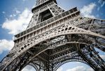 Eiffel tower closeup by 4dam