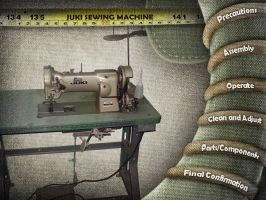 Juki Sewing Interface Design by Andre00x