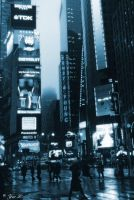 time square blues by Yair-Leibovich