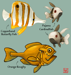 Fish Study by alizarinerose