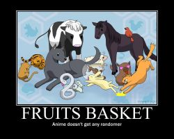 Fruits Basket Motivational poster 1 by copyxpastexedit