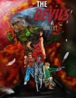The devil's wallet (graphic art illustration) by LiamZedTheDesigner