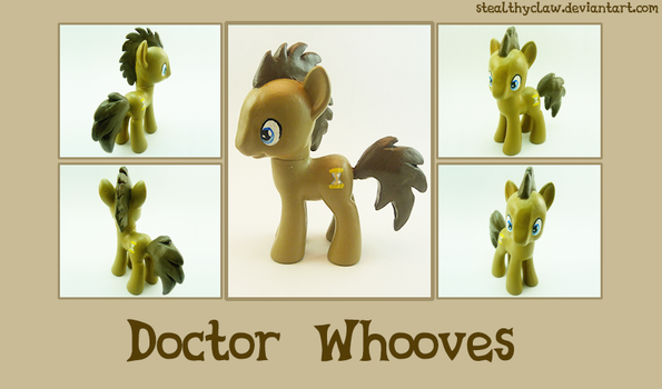 Dr. Whooves Custom~ by StealthyClaw
