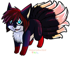 .:PC:. The Little Nine Tailed Fox by FazbearFever
