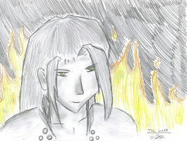 The Look Of Sephiroth by Draxen
