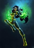 Shego by cric